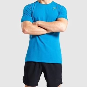 Gymshark Critical SS TShirt Blue Small
